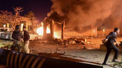 पाकिस्तामा 'चिनियाँ राजदूत लक्षित' विस्फोट, चार जनाको मृत्यु