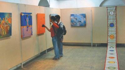 ललितकला प्रदर्शनीमा ५९६ कलाकृति समावेश