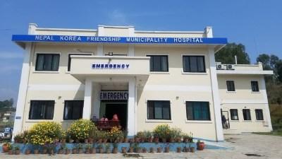 नेपाल कोरिया अस्पतालबाट अक्सिजन उत्पादन