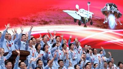 मङ्गलग्रहमा चीनको पहिलो यान अवतरण