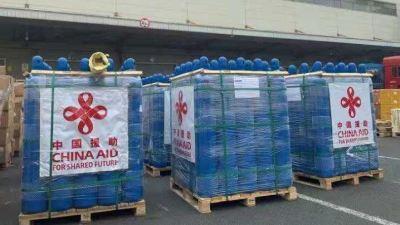 चीनबाट १८ हजार सिलिन्डर तातोपानी आइपुग्यो