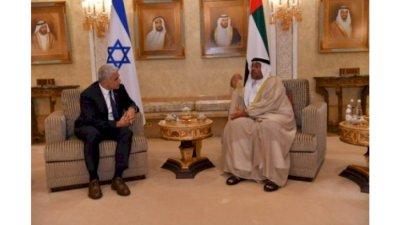 Israeli FM lands in UAE for 1st official visit