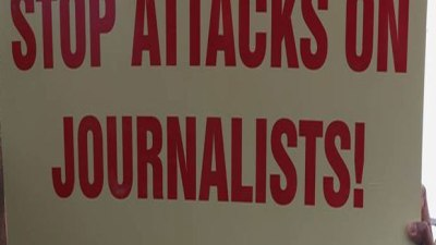 Attack on journalists condemned