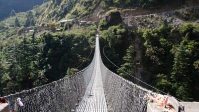बागलुङमा थपिए २८ झोलुङ्गे पुल