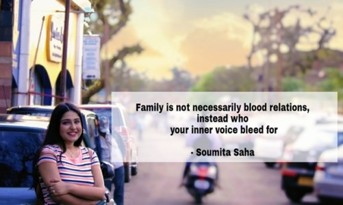 Singer Soumita Saha's heart wrenching message for International Day of Families touched netizens