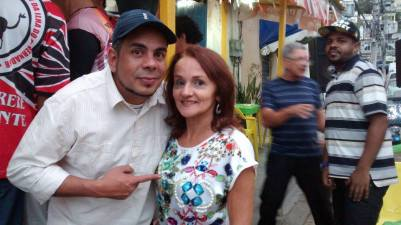Hernane Siqueira e Rosa Fontenele