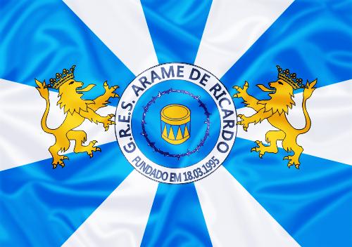 Bandeira_do_GRES_Arame_de_Ricardo