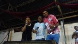Os Intérpretes Nino do Milênio, Bakaninha Jr e Marcelo Riva