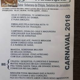 Tradição - Parceria de Santos Melodia