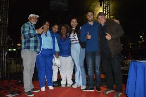 03 - Parceria de Meri de Liz, terceiro lugar no concurso de samba de quadra