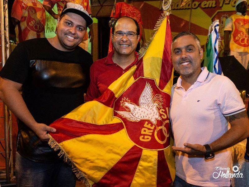 Carnavalescos Ney Junior, Walter Guilherme e Cristiano Plácido Chaves