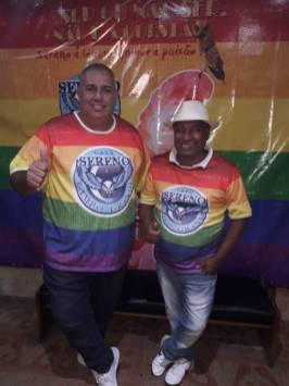 Diretor de Carnaval - André Baiacu e o Presidente - Zé Glória