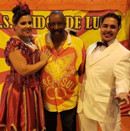 Presidente Elinho e o 2º Casal de MS e PB:Luís Tavares e Carol Dantas