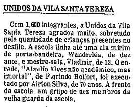 Unidos da Vila Santa Tereza
