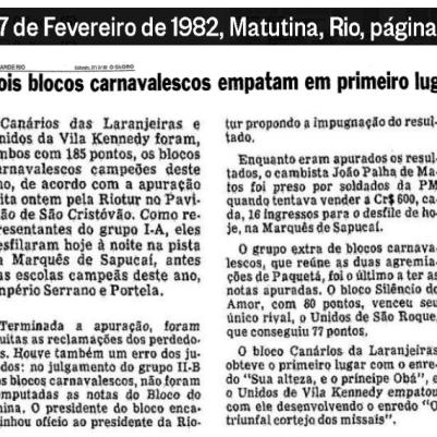 Resultado 1982 1