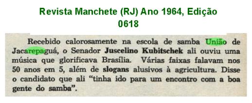 União Carnaval 1964