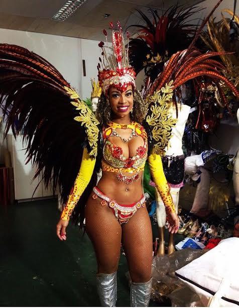 Luana Oliveira, Rainha da Bateria
