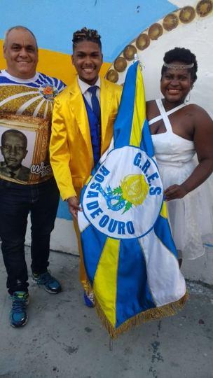 Presidente Helinho e o novo 1º Casal de MS e PB da escola