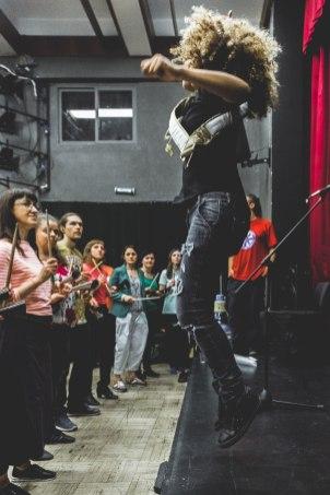 Репетиция. Московский самба фестиваль 2018. Фото: Кузьма Булат