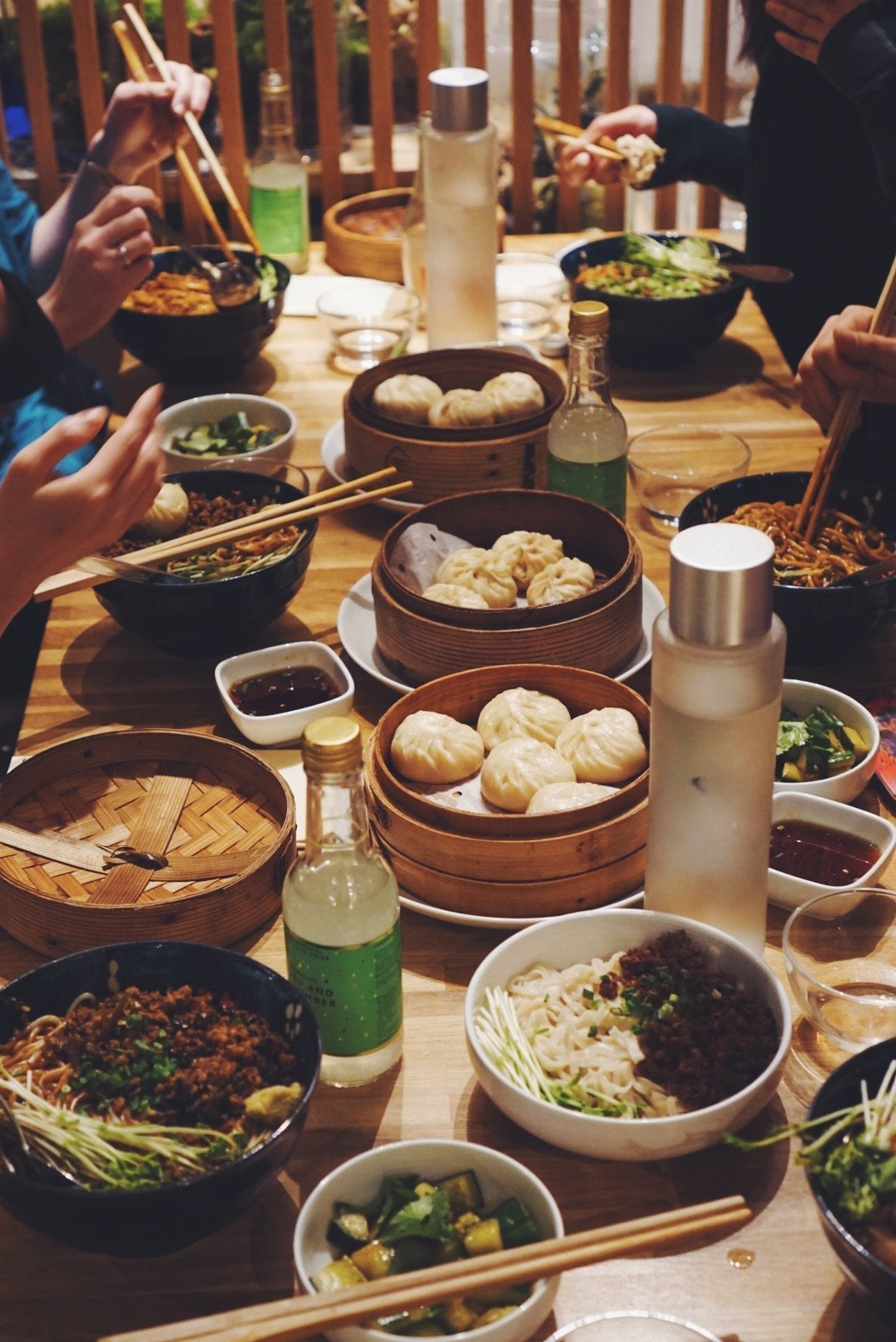 asian dinner party