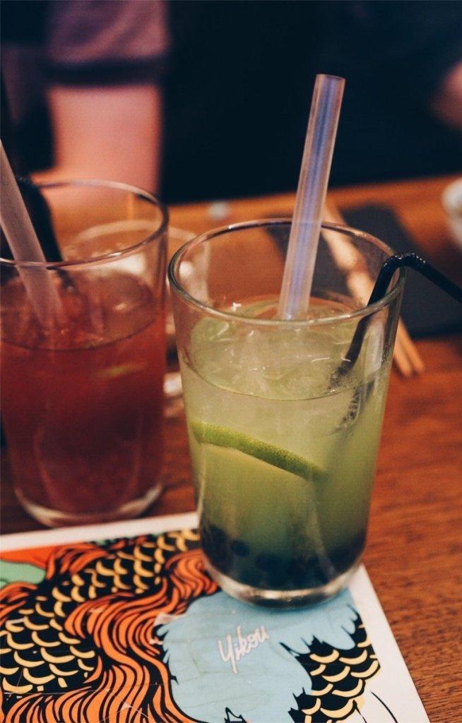 boba cocktail