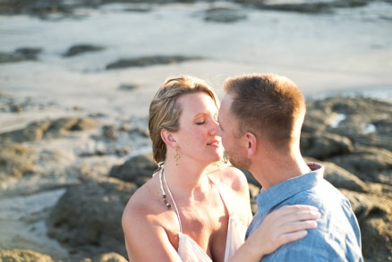 Elopement in Tamarindo Costa Rica. Photographed by Kristen M. Brown, Samba to the Sea Photography.