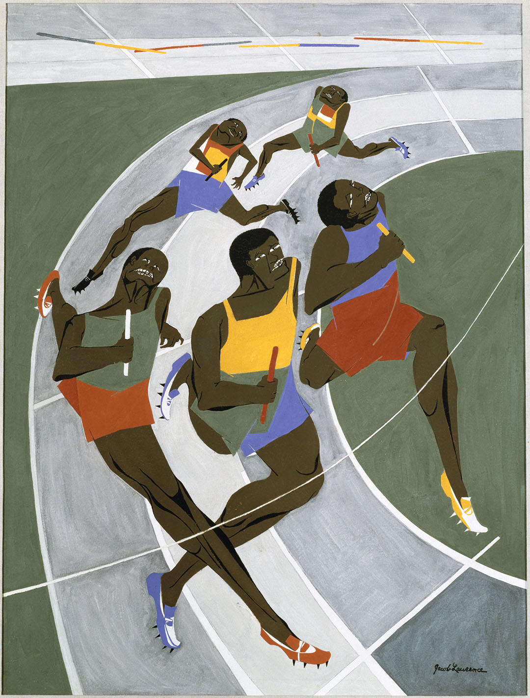 Object of the Week: Study for the Munich Olympic Games Poster