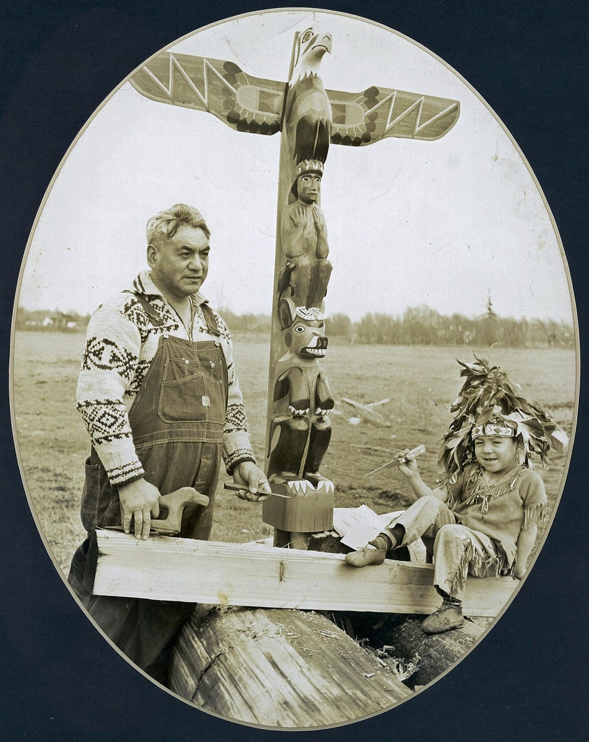 Joseph Hillaire: Carver of the Century 21 Exposition Totem Pole