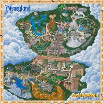 Disneyland California Adventure Map