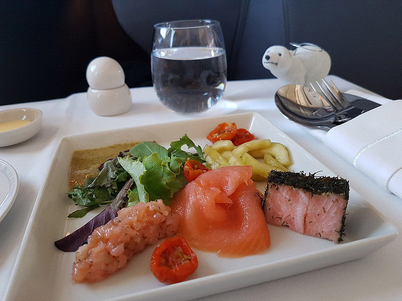 Singapore Airlines Business Class starter