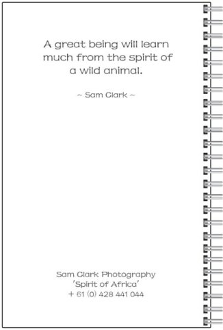 NOTE-TIGER back cover