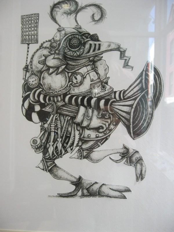 Steampunk Art Sam Crow