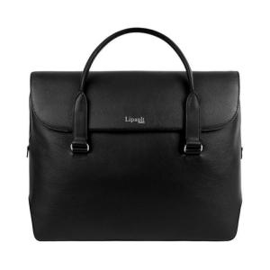 Lipault Plume Elegance laptop bailhandle black