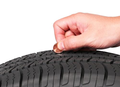 Worn Tread   Sand Springs Tires