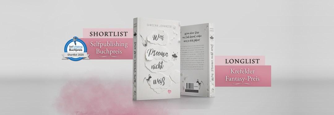 Buchpreis, Was Preema nicht weiß, Krefelder Fantasy Preis, Selfpublisher Buchpreis