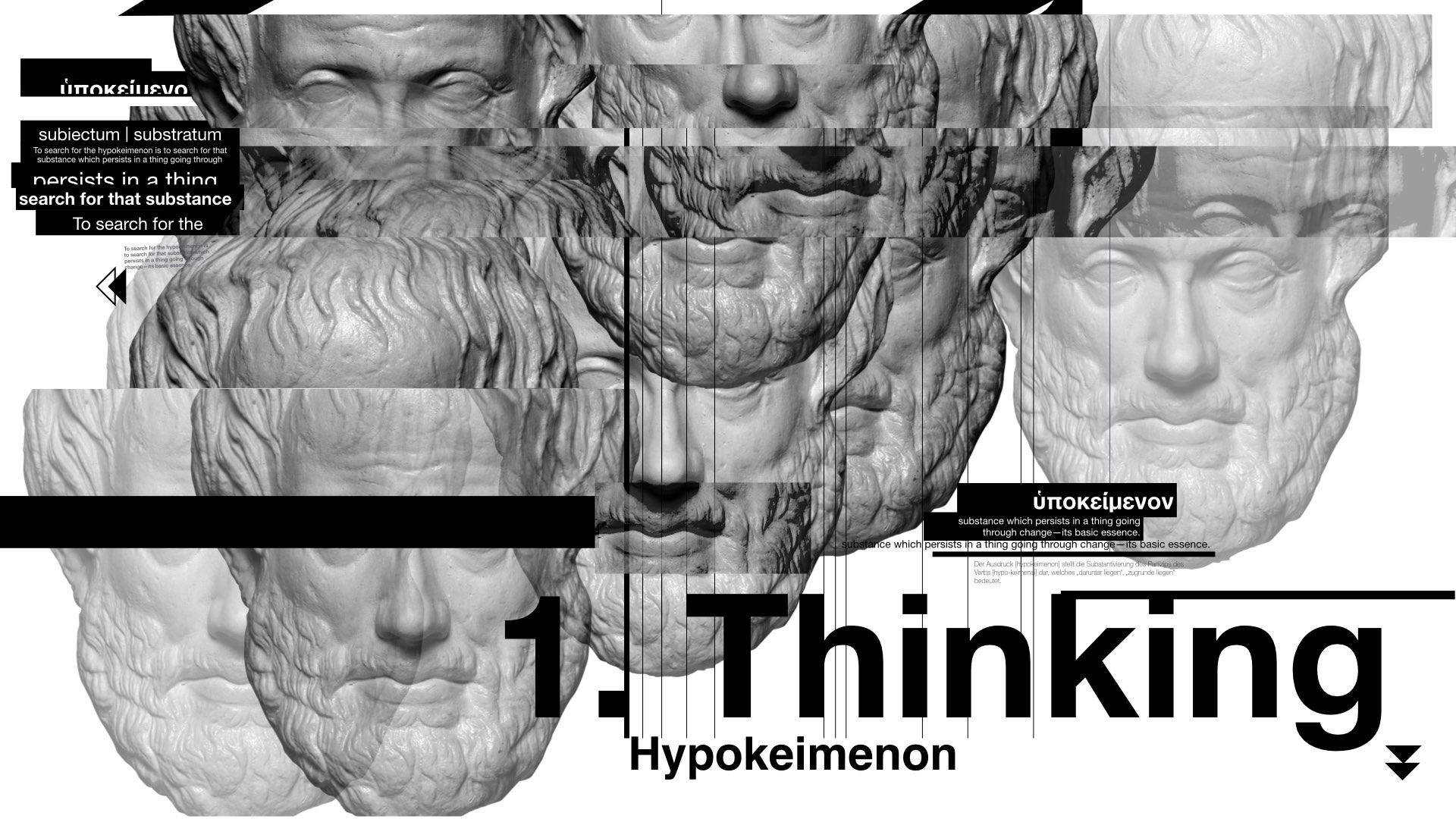 Hypokeimenon Identity design