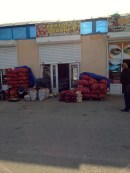 A whole shop for potatoes and onions