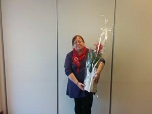 Liv Slettli ble på landsmøtet i Tromsø 2-4 september gjenvalgt som leder i Samenes Folkeforbund.