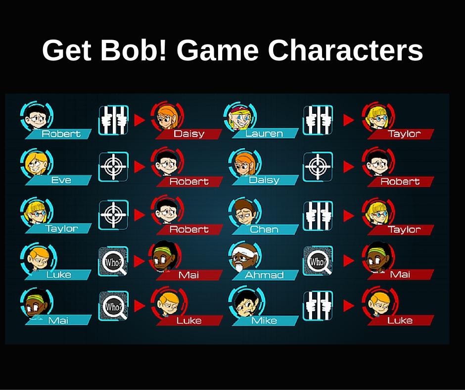 Get Bob! Characters