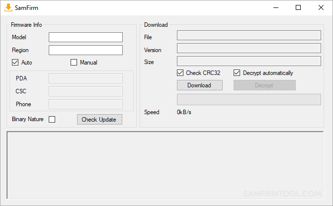 samfirm tool