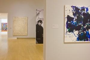 Sam Francis exhibition, Crocker Art Museum, Sacramento, 2014; photo courtesy Crocker Art Museum, photo by Jesse Bravo