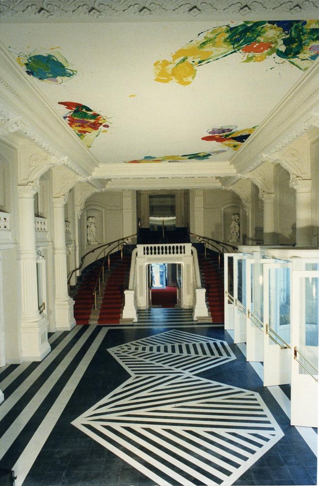 Grand Foyer La Monnaie : Public collections sam francis foundation