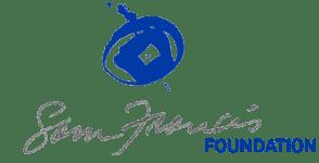 Sam Francis Foundation Logo