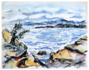 Untitled, ca. 1947, watercolor on paper, 22 1/2 x 30 in. (57.15 x 76.2 cm)