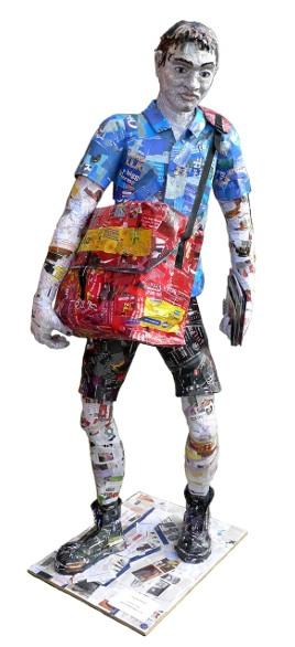 junkmail-postman-sculpture