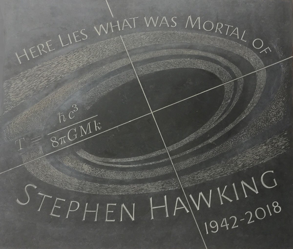 Stephen Hawking Laid to Rest Between Newton and Darwin 1
