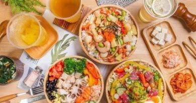 台中北區「夏威夷風輕食」超高CP值!多種菜色組合任你自由搭