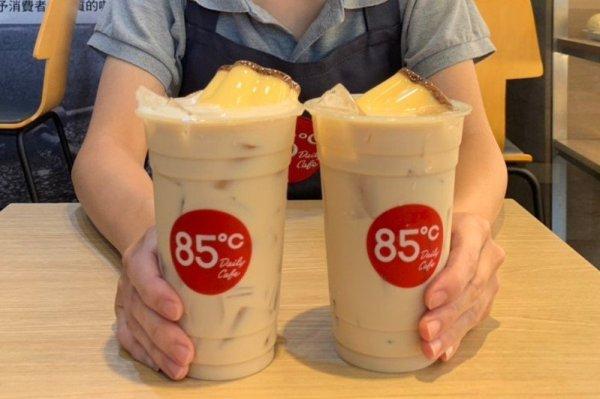 第二杯只要10元!85度C「大杯布丁奶茶」連4日全天優惠必喝爆