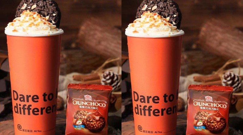 老蕭手搖飲「署茗職茶」連3日買一送一!新品吃得到整塊義美巧克力酥