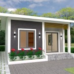 House Plans 6x7m with 2 bedrooms 20x23 Feet 1
